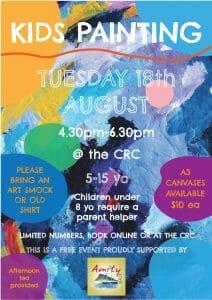 Kids-Painting-Bremer-Bay-CRC-WA-Artists