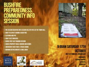 Bushfire Preparedness Information Session Bremer Bay
