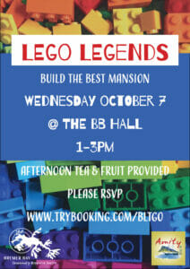Lego Legends Bremer Bay CRC