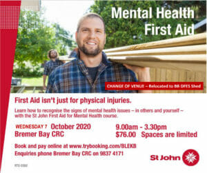 Mental Health Bremer Bay DFES