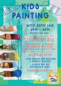 KIDS PAINTING Bremer Bay CRC