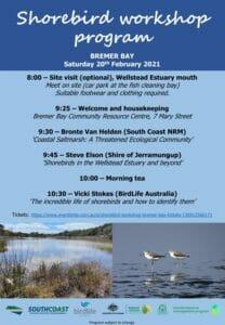 Bremer Bay Shorebirds Workshop