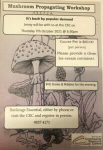 Mushroom Propagation Workshop